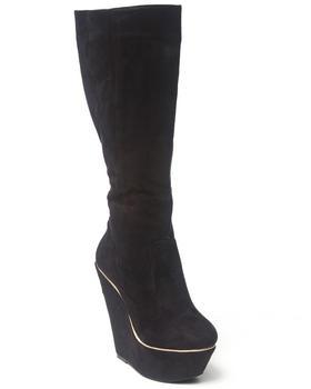 Fashion Lab - Numeria Tall Wedge Boot