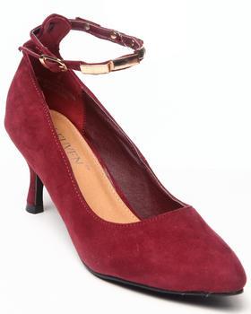 Fashion Lab - Vala Kitten Pointy Heel W/ankle strap