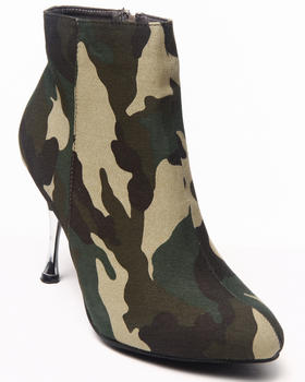 Fashion Lab - Liberty Camo Bootie