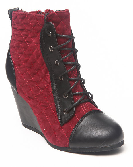 Fashion Lab - Nerine Quilted Bootie