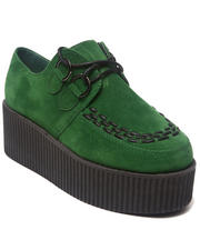 Footwear - Nyree Green Camper Creeper