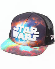 Men - Star Wars Galaxy A-Frame snapback hat