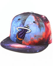 Men - Miami Heat Galaxy 5950 fitted hat