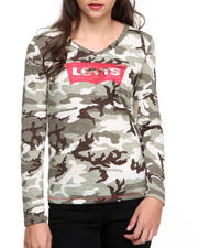 Levi's - Camo Long Sleeve Tee