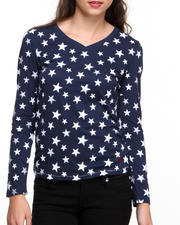 Women - Long Sleeve Stars Tee