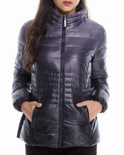 KENSIE - Ombre Adjustable Waist  Down Coat