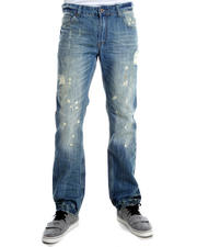 Basic Essentials - XRAY Paint Splatter Denim Jeans