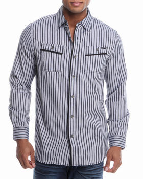 MO7 - Double Faced L/S Button Down Shirt