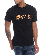Filthy Dripped - Peace Love T-Shirt