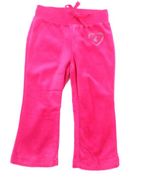 La Galleria - VELOUR PANTS (2T-4T)