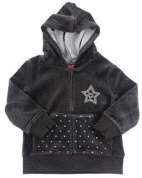 La Galleria - VELOUR JACKET (2T-4T)