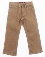 Bottoms - SLIM COLOR DENIM JEANS (2T-4T)