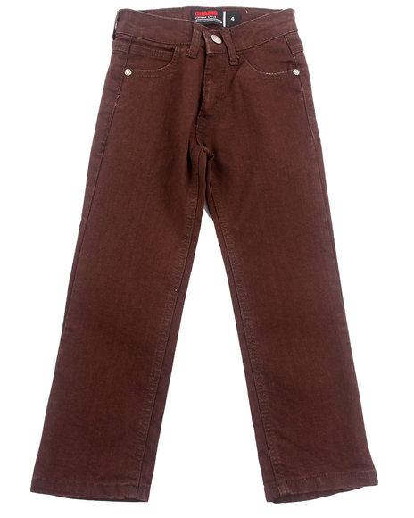 Brown,Maroon Jeans