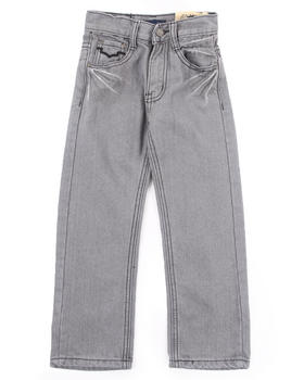 Arcade Styles - CHARCOAL BLEACHED JEANS (4-7)