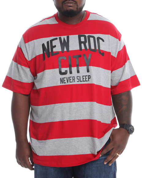 Rocawear Red New Roc Crew Neck Tee (Big & Tall)