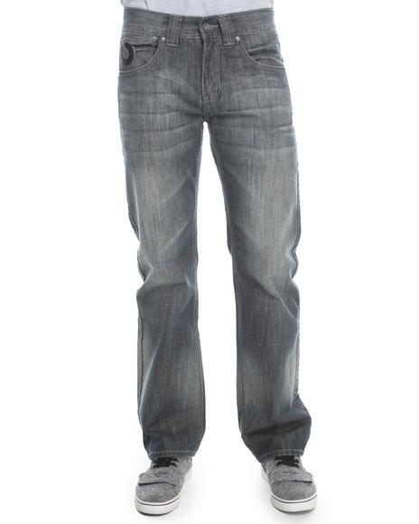Pelle Pelle Black Horseshoe Denim Jeans