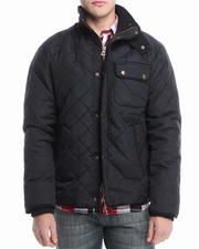 Men - Marco Fleece Lined Quilted Water Resistant Jacket