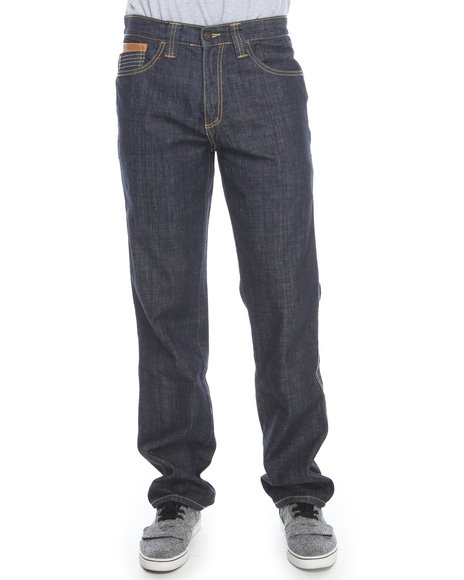 Pelle Pelle Dark Wash Dart Pocket Wash Denim Jeans