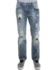Pelle Pelle - Indigo wash Boot Stitch denim jeans