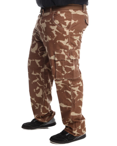 Rocawear Camo Trooper Twill Belted Cargo Pants (Big & Tall)