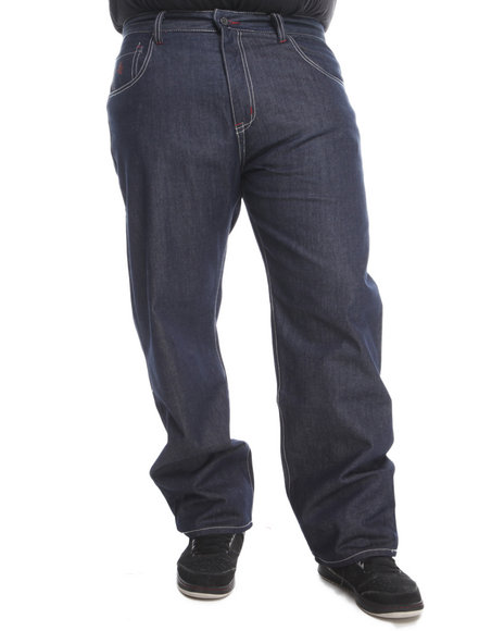 Rocawear - Men Red, Raw Wash Life Time Fashion Denim Jeans (B & T)