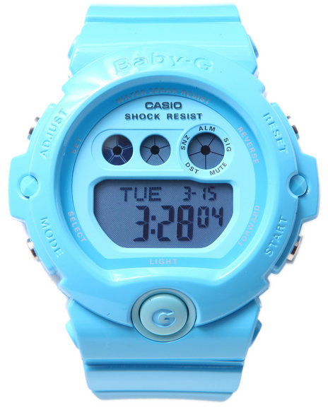 G-Shock By Casio Women Bg-6902 Vivid Blue Watch Blue