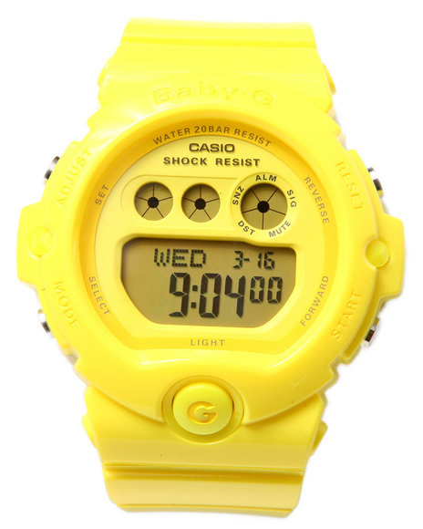 G-Shock By Casio Bg-6902 Vivid Yellow Watch Yellow