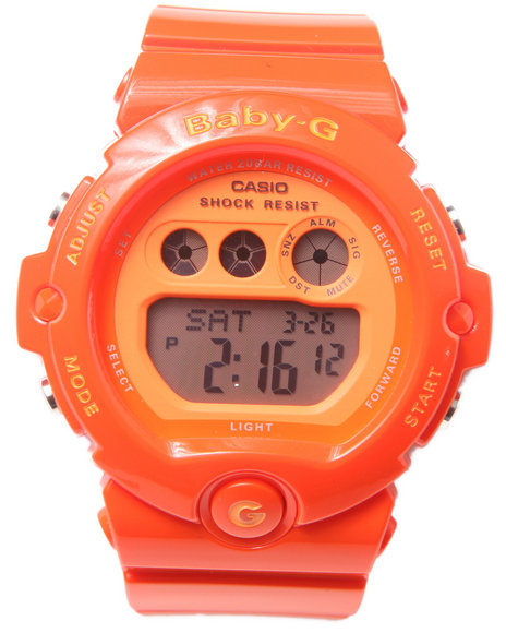 G-Shock By Casio Bg-6902 Vivid Orange Watch Orange