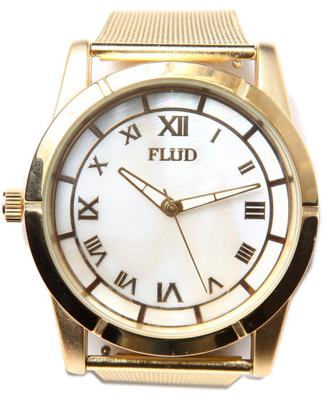 Flud Watches Men The Moment Watch Gold 1SZ