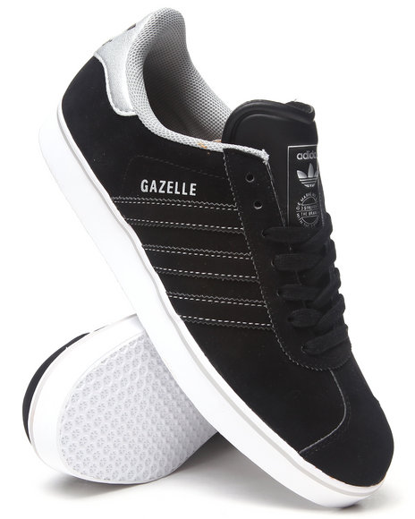 Adidas Black Gazelle Sneakers