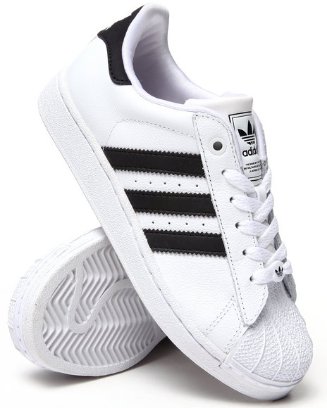Adidas Boys White Superstar 2 J Sneakers