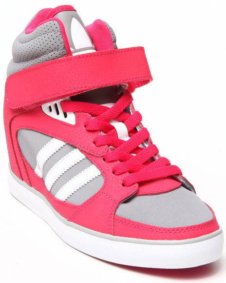 Adidas Pink Amberlight Heel Wedge Sneakers