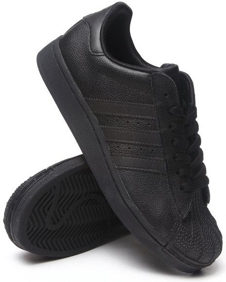Adidas Boys Black Superstar 2 Sneakers J