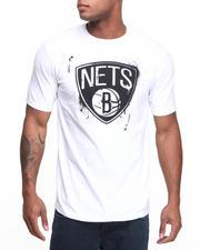 T-Shirts - Brooklyn Nets Stencil Tee