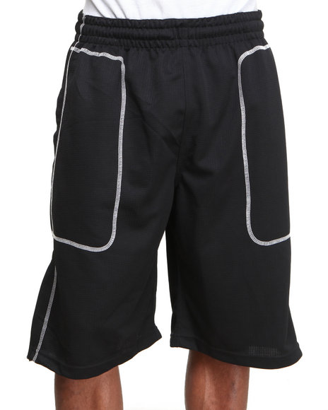 Nba, Mlb, Nfl Gear - Men Black Brooklyn Nets Russell Team Short