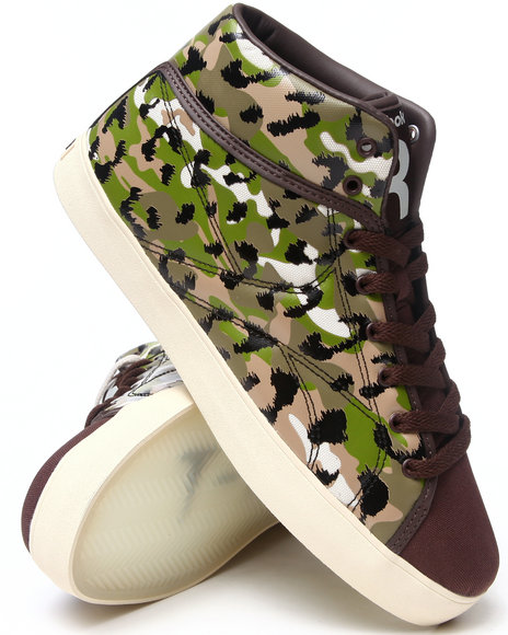 Reebok - Men Camo,Green T Raww Sneakers