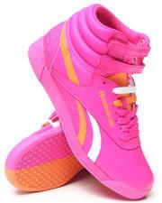 Reebok - Freestyle Hi Splitz Sneakers