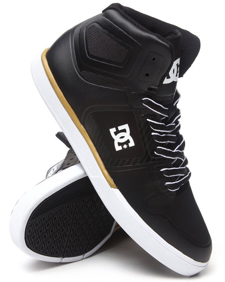 DC Shoes Gold,Black Pure Ns Hi Sneakers