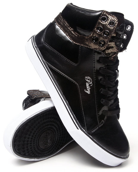Pastry - Women Black Pop Tart Sweet Crime Sneaker - $55.00