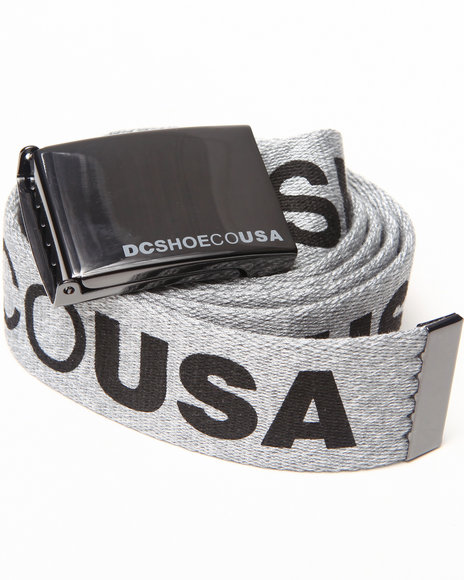 Dc Shoes Chinook Tx Belt Grey