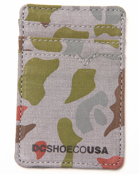 Dc Shoes Camorot Cardholder Wallet Camo
