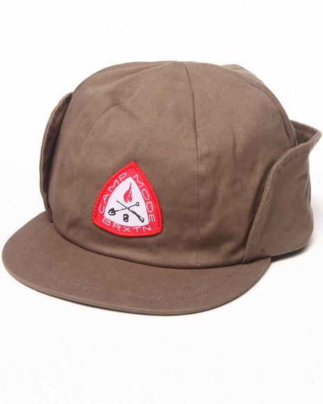 Brixton - Men Khaki,Olive Mode Reversible Twill Hat