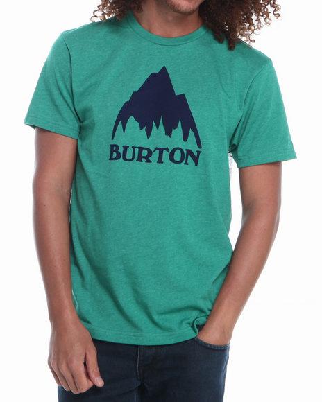 Burton - Men Green Classic Mountain S/S Tee