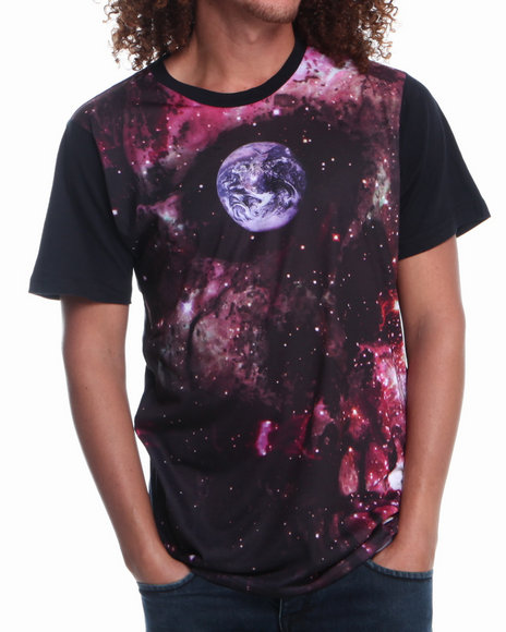 L.A.T.H.C. Multi Skull Space Tee