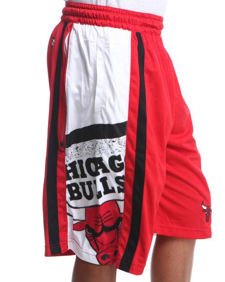 NBA, MLB, NFL Gear Red Chicago Bulls Team Ghost Short
