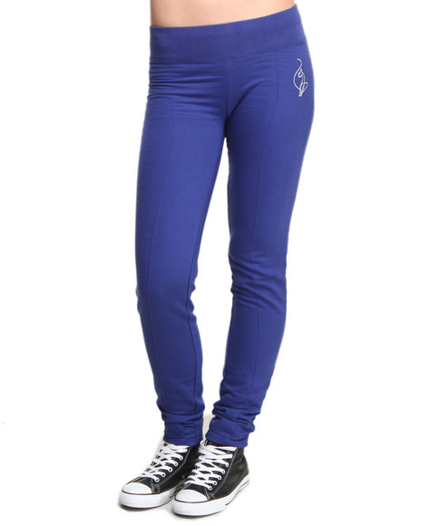 Baby Phat - Women Blue Active Sweat Pant