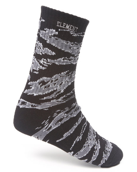 Element Tigerlead Socks Black