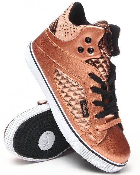 Pastry Rose Gold Sire Varsity Punk Sneaker