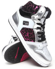 Footwear - Glam Pie Foil Cheetah Sneaker