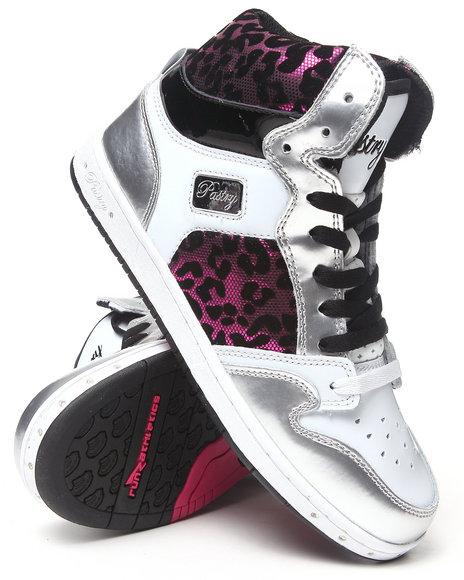 Pastry Pink Glam Pie Foil Cheetah Sneaker